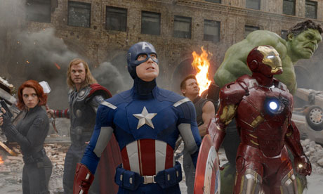 The Avengers film still