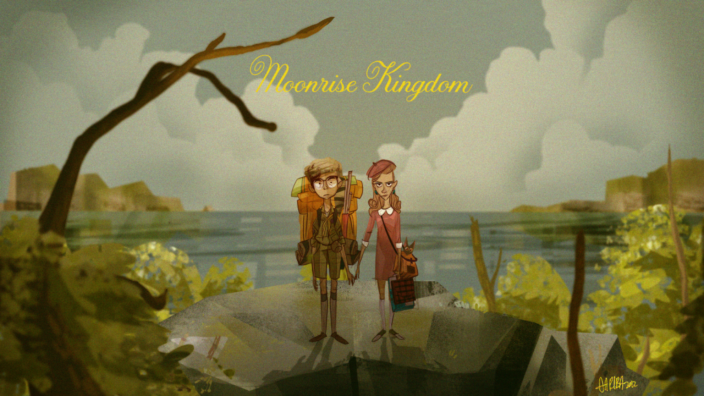 Moonrise Kingdom art